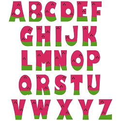 NEW: Watermelon Complete Uppercase