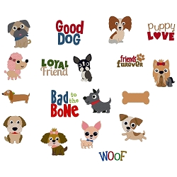Toy Dog Breeds Set