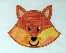 Fox Head Appliqué