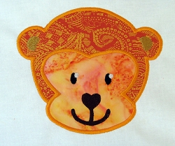 Monkey Head Appliqué
