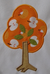 Autumn Tree Applique