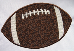 Football Appliqué