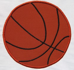 Basketball Appliqué