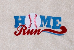 Home Run Appliqué