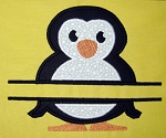 Split Penguin Appliqué