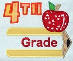 Pencil Split Applique Grade 4