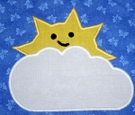 Cloud-Sun Appliqué