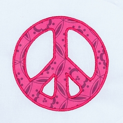 Peace Applique