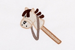 Stick Horse Applique