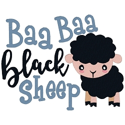 Baa Baa Black Sheep Single