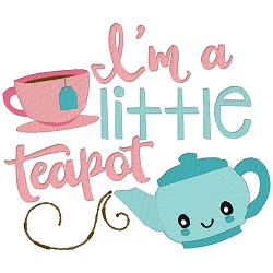 I'm a Little Teapot Nursery Rhyme Single