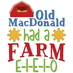 Old MacDonald Nursery Rhyme Single