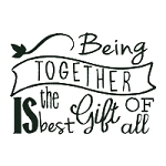 Being Together is the Best Gift Single