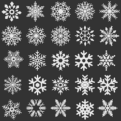 NEW: Fifty Snowflakes