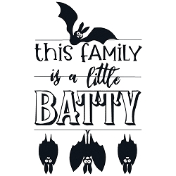 NEW: This Family is a little Batty Single