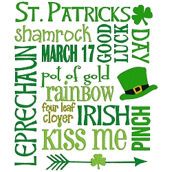 NEW: St. Patricks Day Collage