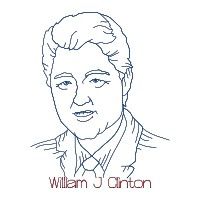 Willima J. Clinton Single