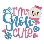 I'm Snow Cute Single