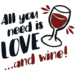 All You Need is Love and Wine Single