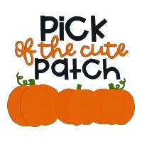Pick of the Cute Patch Single