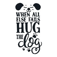 When All Else Fails, Hug the Dog Single