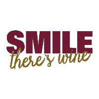 Smile There's Wine Single