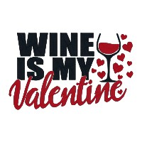 Wine is My Valentine Single