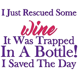 Rescued Wine Single