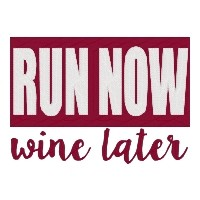 Run Now Wine Later Single