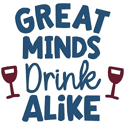 NEW: Great Minds Drink Alike Single