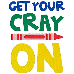 Get Your CrayOn Single