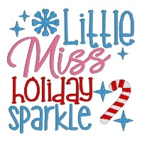 Little Miss Holiday Sparkle Single