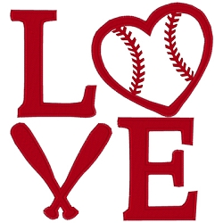 I Love Baseball Single