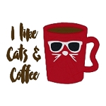 I Like Cats and Coffee Single