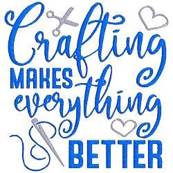 NEW: Crafting Makes Everything Better Single