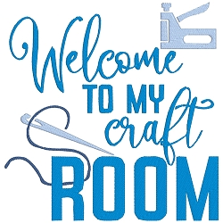 Welcome to my Craft Room Single