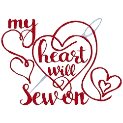 My Heart Will Sew On Single