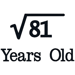 Square Root Birthday 09