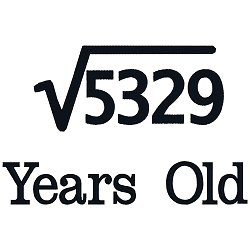 Square Root Birthday 73