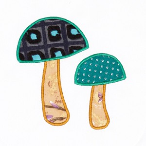 Mushrooms Appliqué