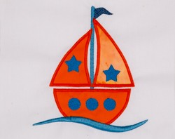 Sailboat Appliqué