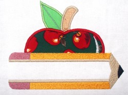 Pencil Split Applique