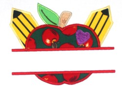 Apple-Pencil Split Applique