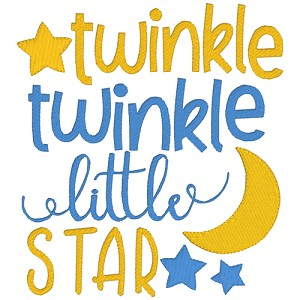 Twinkle Twinkle Nursery Rhyme Single