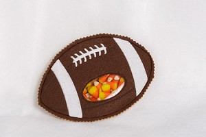 Football Candy Pouch ITH