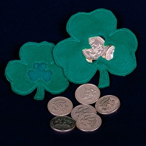 Shamrock Candy Pouch ITH