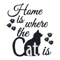 Home is Where the Cat Is Single