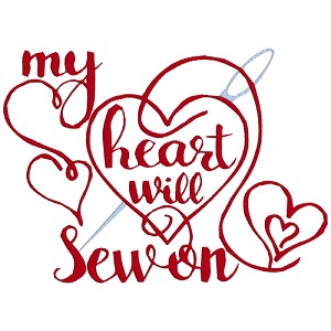 NEW: My Heart Will Sew On Single